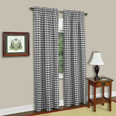 Haylee Curtain Panels Size: 42 W x 63 L