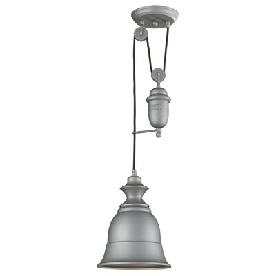 Rodriques 1-Light Metal Mini Pendant Finish: Aged Pewter