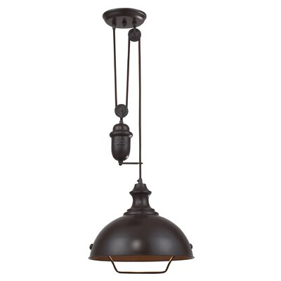 Rodriques 1-Light Bowl Pendant