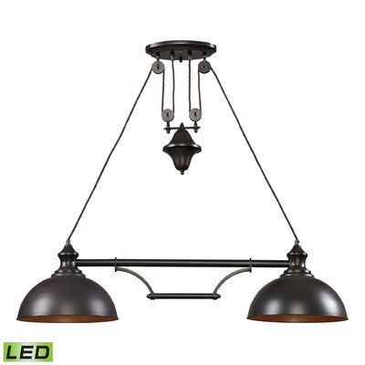 Rodriques 2-Light Kitchen Island Pendant