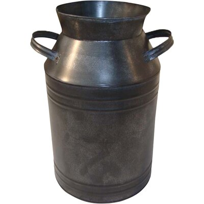 Vintage Tin Milk Can