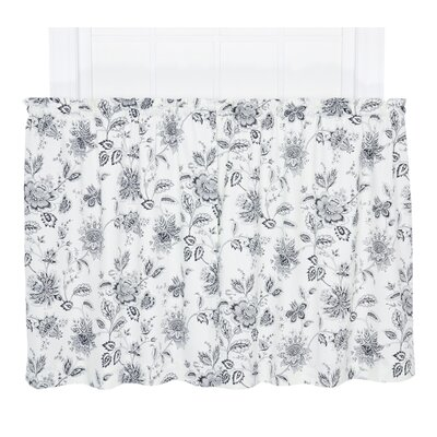 Hawthorn Floral Print Tailored Tier Curtain