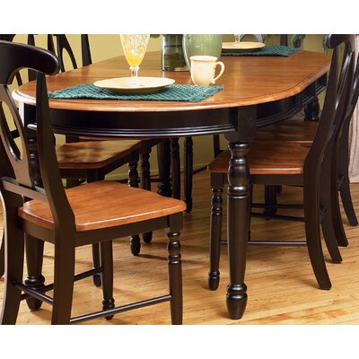 Buena Extendable Dining Table Finish: Honey / Espresso