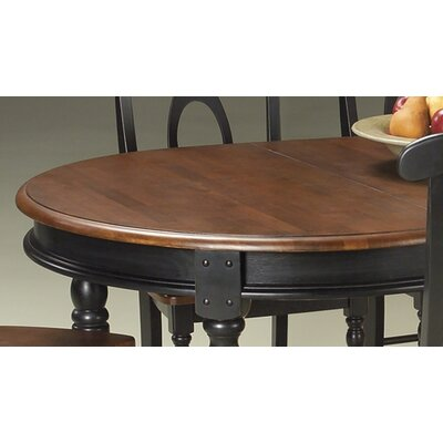 Shelburne Extendable Dining Table Finish: Oak / Black
