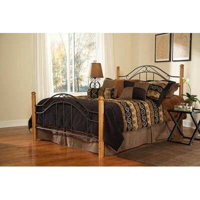 Richardton Headboard and Footboard Panel Bed Size: King