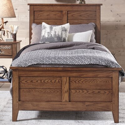 Pinesdale Panel Headboard and Footboard Size: Full