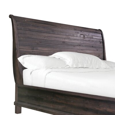 Delpha Sleigh Headboard Size: King
