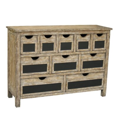 Luna 10 Drawer Accent Chest