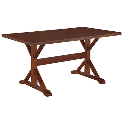 Alene 5 Piece Dining Set Finish Chestnut
