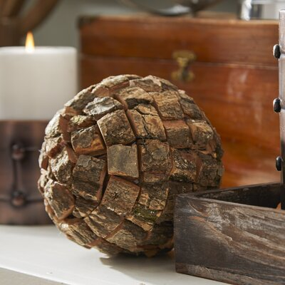 Carmella Decorative 6 Piece Ball Sculpture Set Size: 5 H x 5 W x 5 D