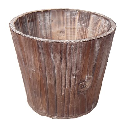 Etha Wood Pot Planter