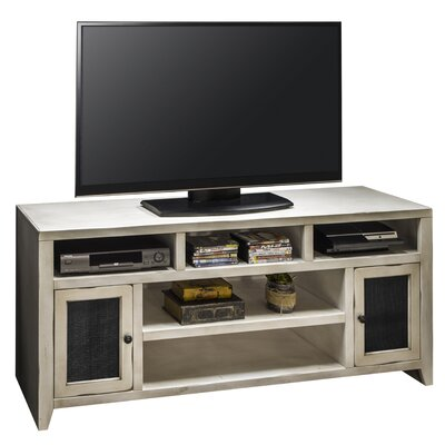Purington 66 TV Stand Color: White