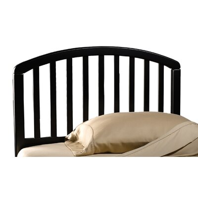 Elinor Slat Headboard Size: Full / Queen, Color: Black