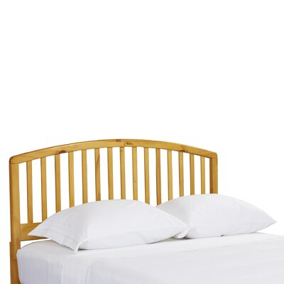 Elinor Slat Headboard Size: Twin, Color: Country Pine