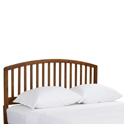 Elinor Slat Headboard Size: Twin, Color: Cherry