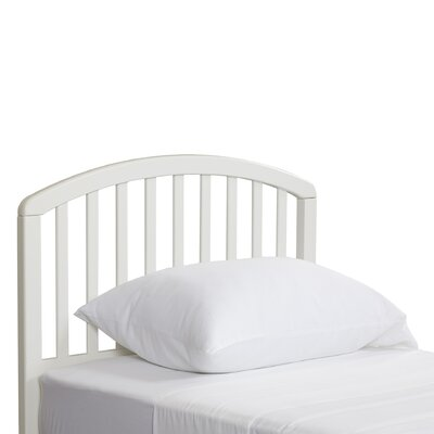 Elinor Slat Headboard Size: Twin, Finish: White