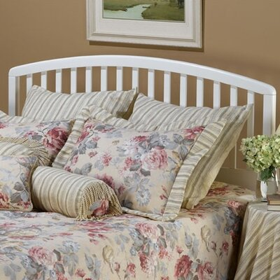 Elinor Slat Headboard Size: Twin, Color: White