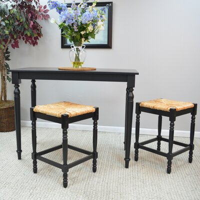 Emilia Dining Table Finish Antique Black