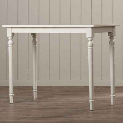 Emilia Dining Table Color: Antique White