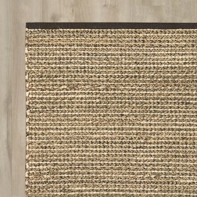 Glenns Ferry Handmade Brown Area Rug