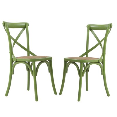 Gabin Side Chair Finish: Muted Green