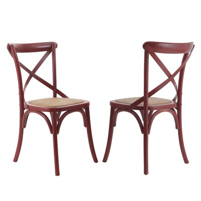 Gabin Side Chair Finish: Deep Red