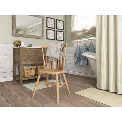 Sofia Arrowback Solid Wood Dining Chair Finish: Unfinished