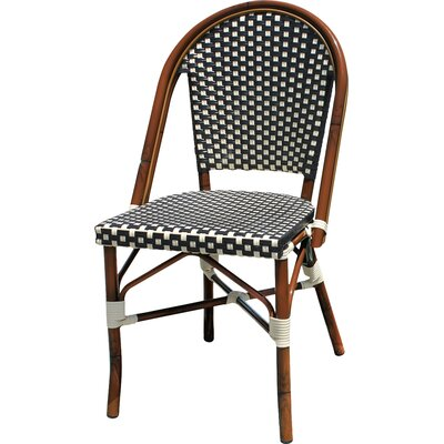 Dolly Stacking Dining Side Chair Finish: Black / White