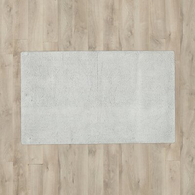 Pierro Plush Solutions Bath Mat Color: Grey