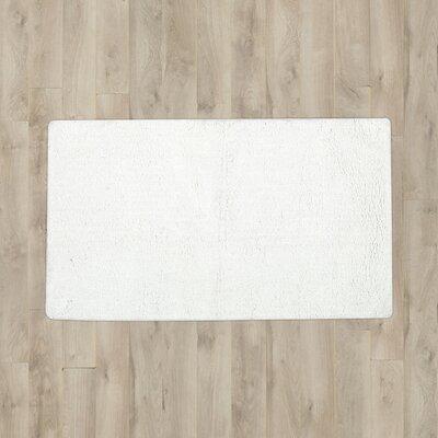 Tayler Plush Solutions Bath Mat Color: White