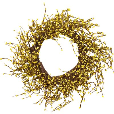 Pip Berry Wreath Color: Yellow