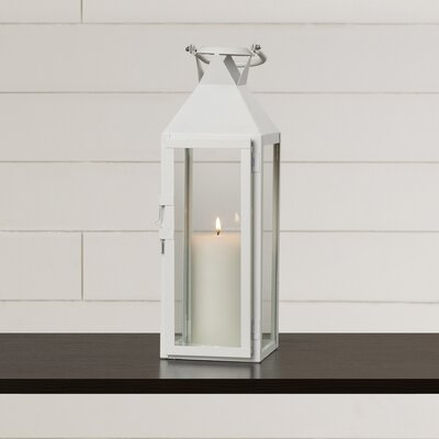Artemesia Candle Lantern Color: White