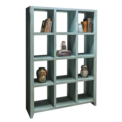 Bess 72 Cube Unit Bookcase Finish: Blue