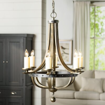 Betty-Jo 6-Light Candle-Style Chandelier