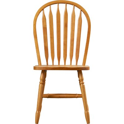 Dining Chair Color: Rich Honey Light Oak