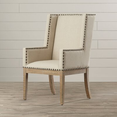Cheyenne Upholstered Dining Chair Color: Bisque