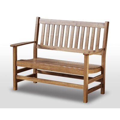 Franklin Springs Wood Entryway Bench