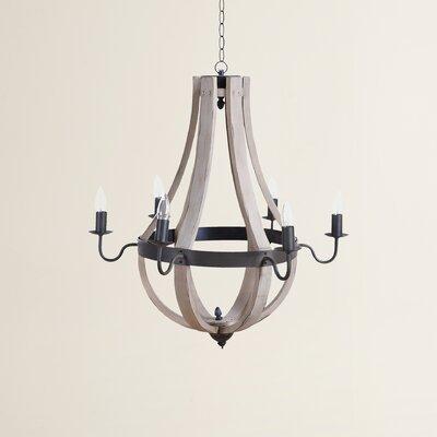 Calhoun 6-Light Candle-Style Chandelier