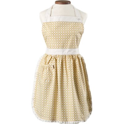 Caille Apron Color: Dijon Yellow