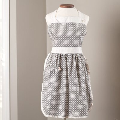 Caille Apron Color: Grey
