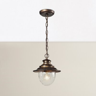 Avon 1-Light Foyer Pendant Finish: Regal Bronze