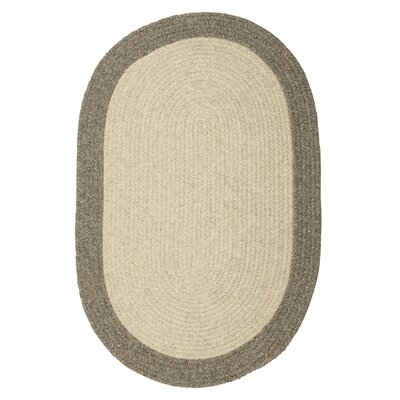 Rupert Gray Area Rug Rug Size: Round 4