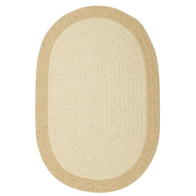 Rupert Linen Area Rug Rug Size: Oval 2 x 10