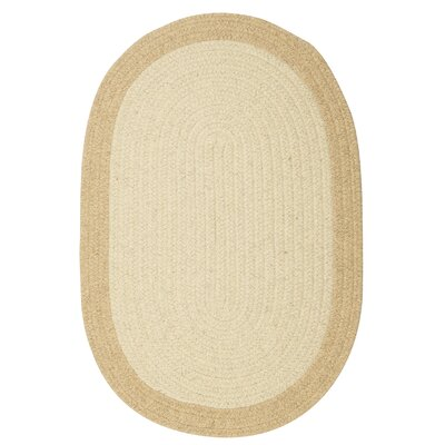 Rupert Linen Area Rug Rug Size: Oval 2 x 4