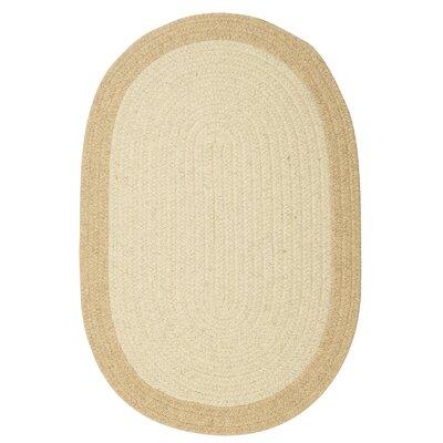 Rupert Linen Area Rug Rug Size: Oval 7 x 9