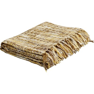 Fairbury Novelty Throw Blanket Color: Yellow, Beige, White, Brown, Mushroom