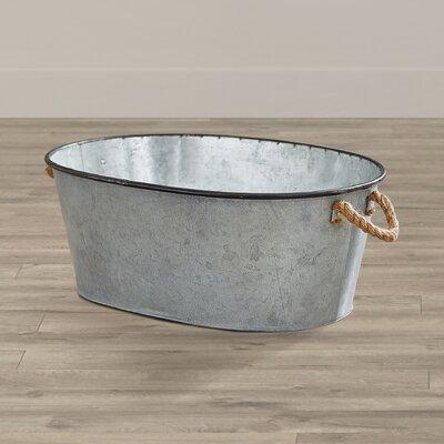 Savoie Galvanized Metal Bucket