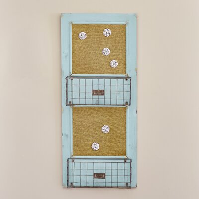 Sagebrush Wood Wall Memo Board
