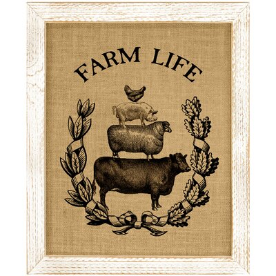 Plummer Farm Life Framed Graphic Art