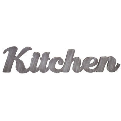 Kitchen Metal Wall Decor